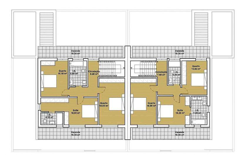 Moradias V4 Colinas do Cruzeiro – Fase de Projeto